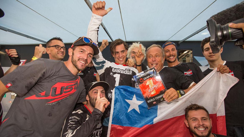 Matteo Cavallo y Ruy Barbosa, primeros Campeones del Mundial de Enduro