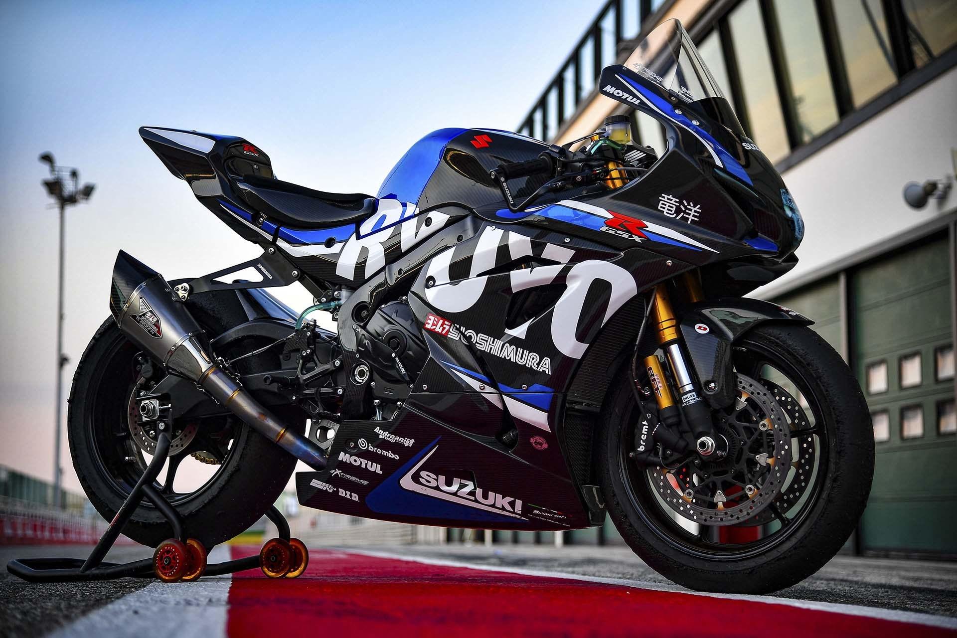 Suzuki GSX-R 1000R Ryuyo, 168 kg de peso y más de 200cv en esta bestia de superbike