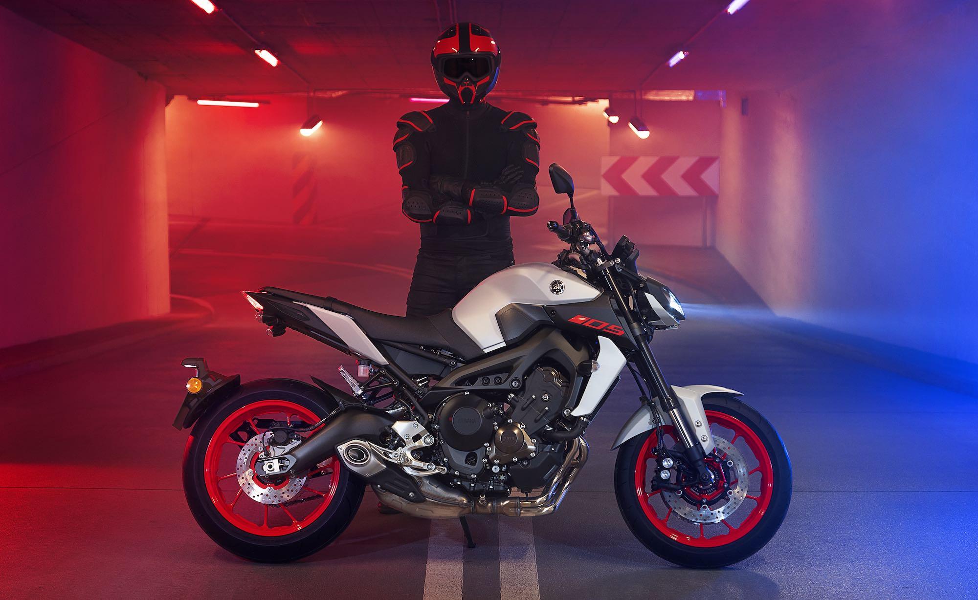 Yamaha viste de gala su familia MT para 2019: así son los nuevos colores