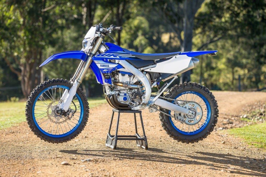 Novedad: Yamaha WR 450 F, preparada para 2019
