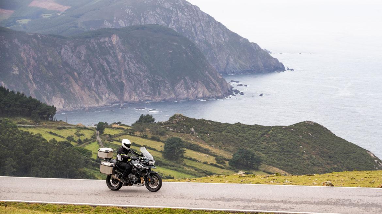 Ruta en moto por el norte de Galicia