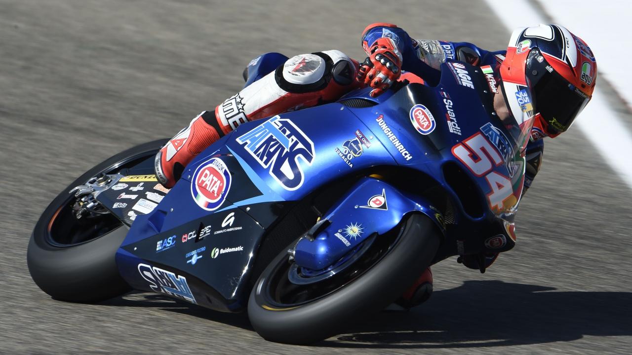 Mattia Pasini comanda mañana y tarde en el estreno de Moto2 en Tailandia