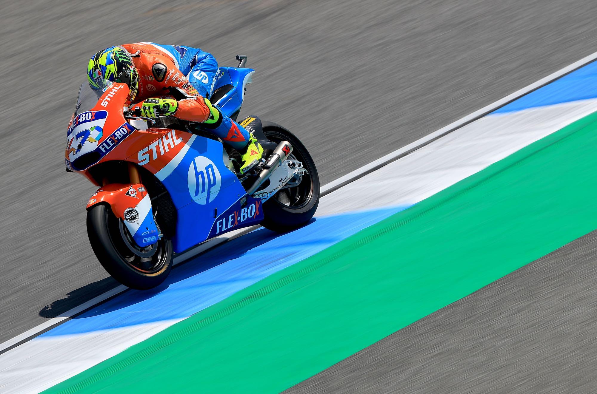 Pole position para Lorenzo Baldassarri en Moto2