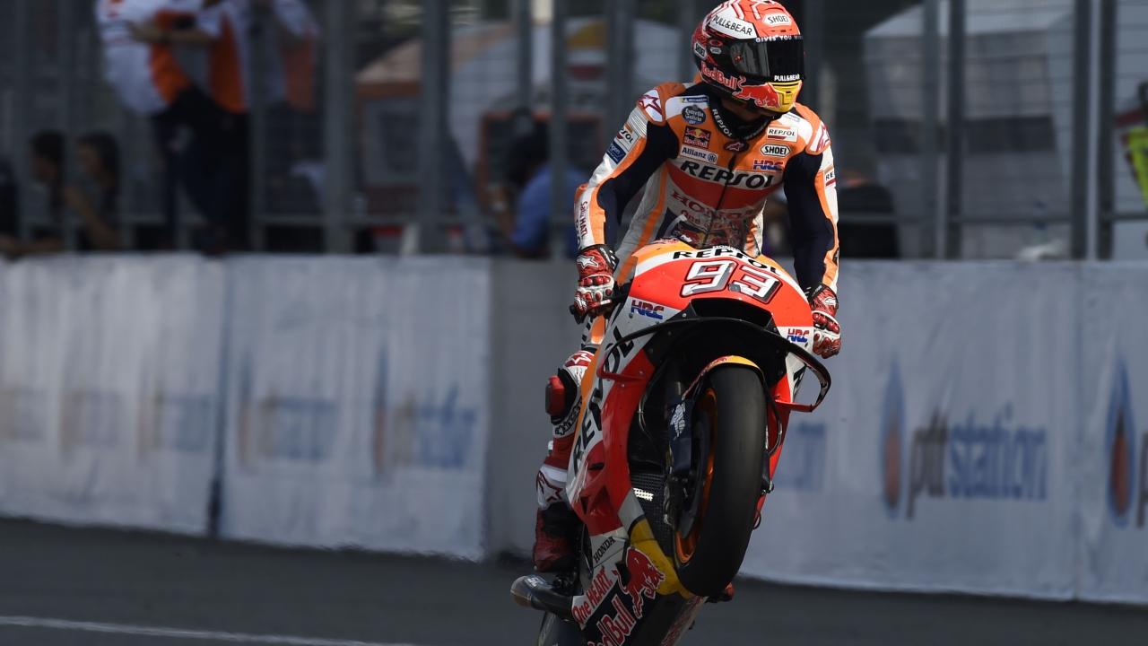 """Marc Márquez: """"Nos hemos quitado la espina de ganar a la Ducati en la última vuelta"""""""