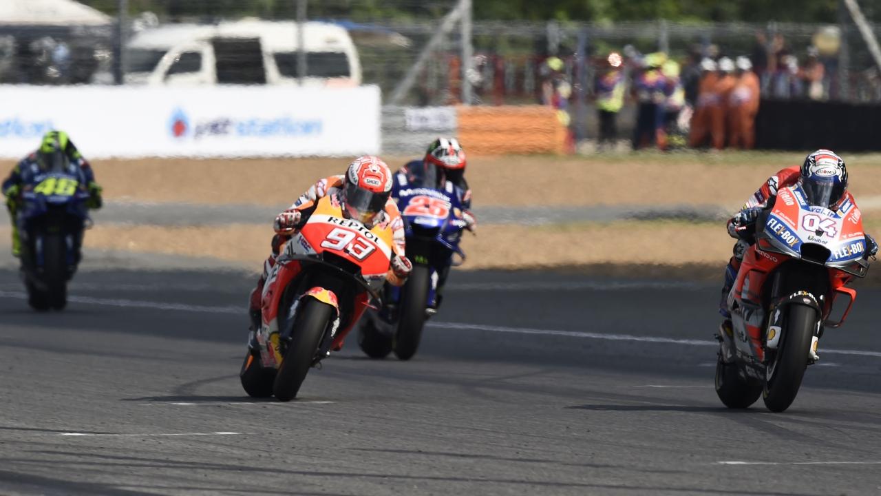 MotoGP 2018 – Píldoras Tailandia: Guantazo al título, héroe silencioso y una caída feliz