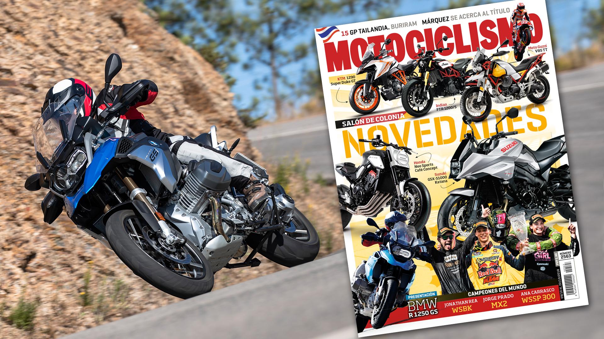 MOTOCICLISMO 2.563, contenidos y sumario de la revista