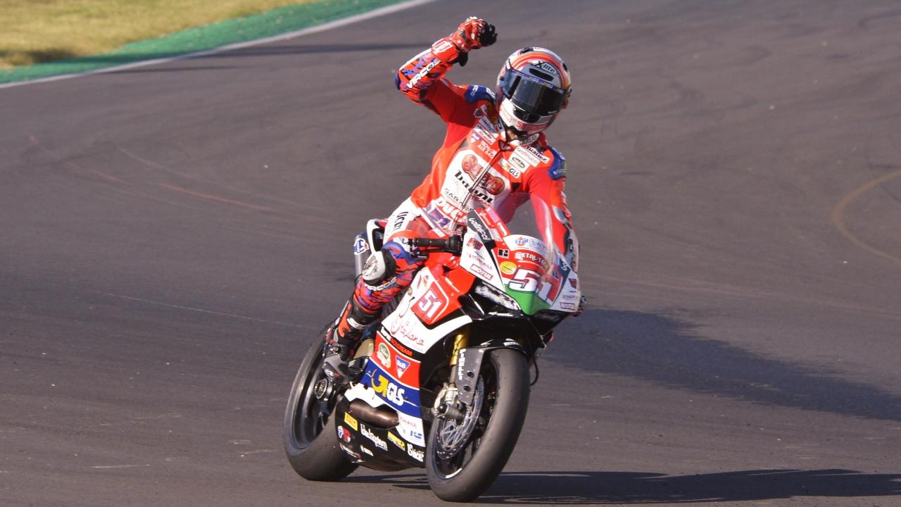 NoTodoMotoGP: Michele Pirro conquista el CIV 2018 con un poco de suerte de campeón