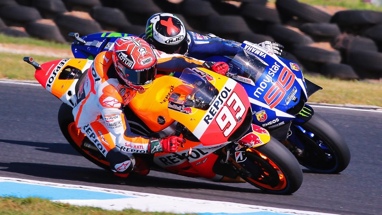 Marc Márquez es el mejor piloto de última vuelta desde que llegó a MotoGP