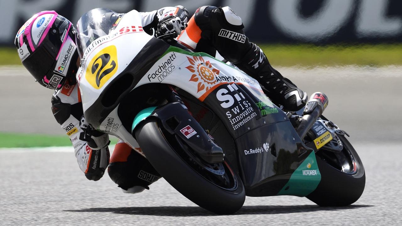 Jesko Raffin sale del arca de Noé como campeón de Europa de Moto2 2018