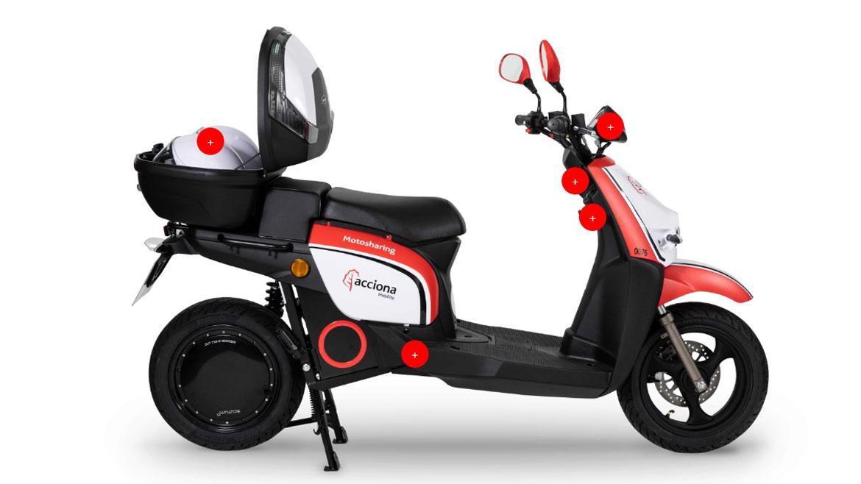 Acciona Motosharing, el nuevo servicio de motos eléctricas de Acciona Mobility
