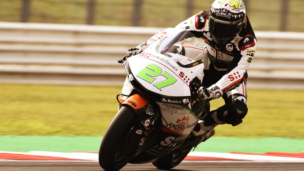 Iker Lecuona se sitúa en cabeza en los libres de Moto2 en Japón