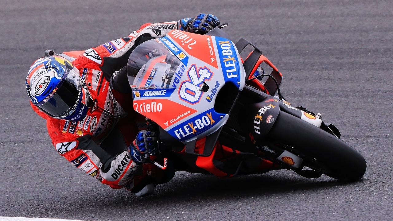 Andrea Dovizioso se lleva la pole en Japón y Marc Márquez saldrá sexto a por el título