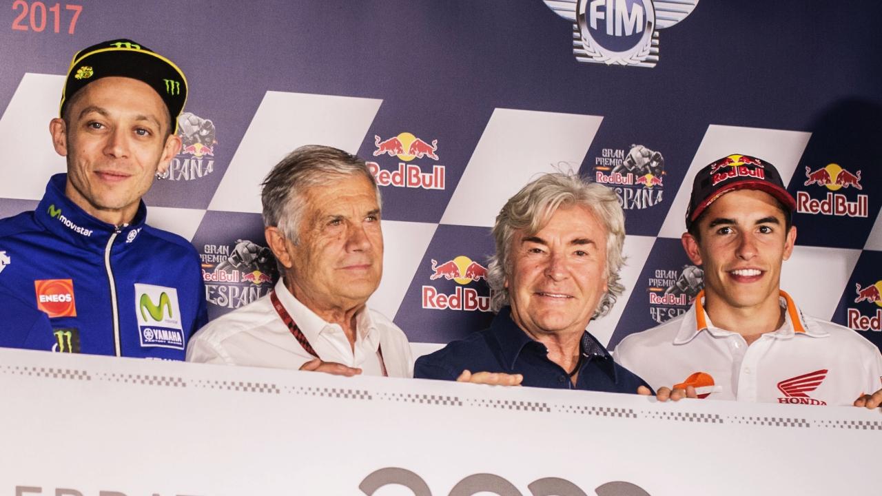 """Marc Márquez: """"Giacomo Agostini, Ángel Nieto y Valentino Rossi son los más grandes"""""""