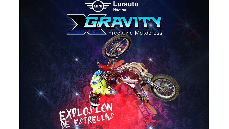 X-Gravity  llega a Pamplona el 27 de octubre