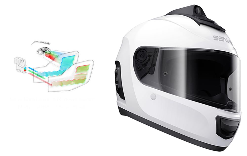 ¿17.000 euros por un casco? Sena mira al futuro con este prototipo