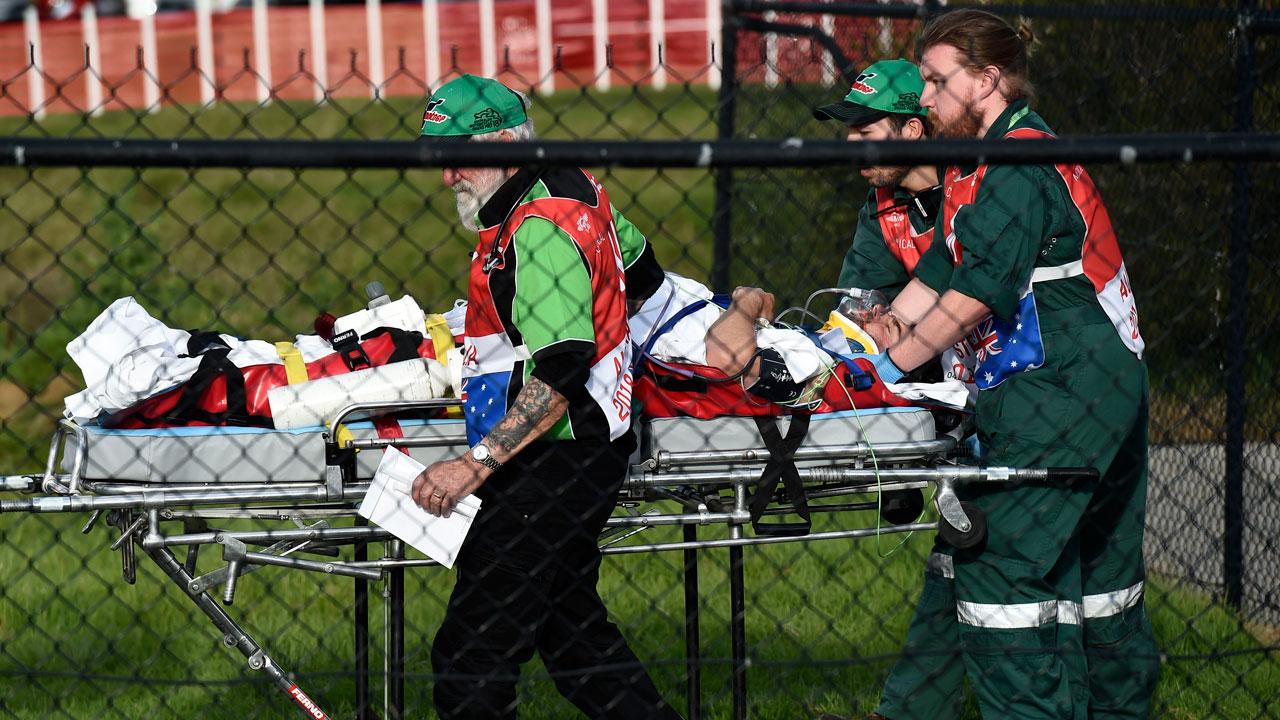 Cal Crutchlow se pierde el GP de Australia tras sufrir una caída a 240 km/h
