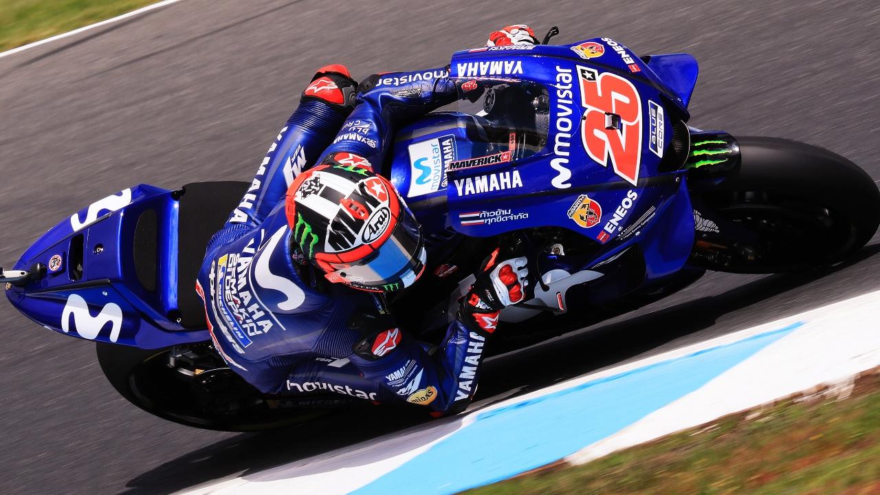 Maverick Viñales arrasa en Australia y pone fin la histórica sequía de Yamaha en MotoGP
