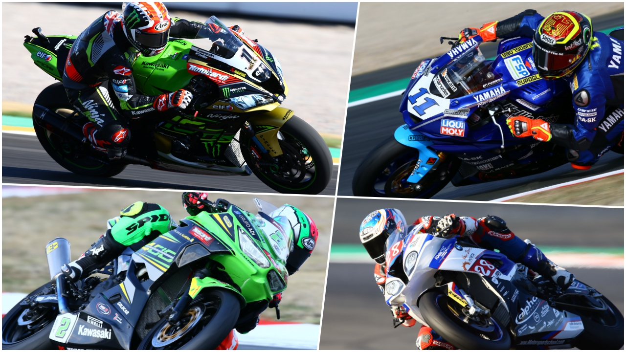 Clasificaciones finales WorldSBK 2018: Superbike, Supersport, Supersport 300 y Superstock 1000