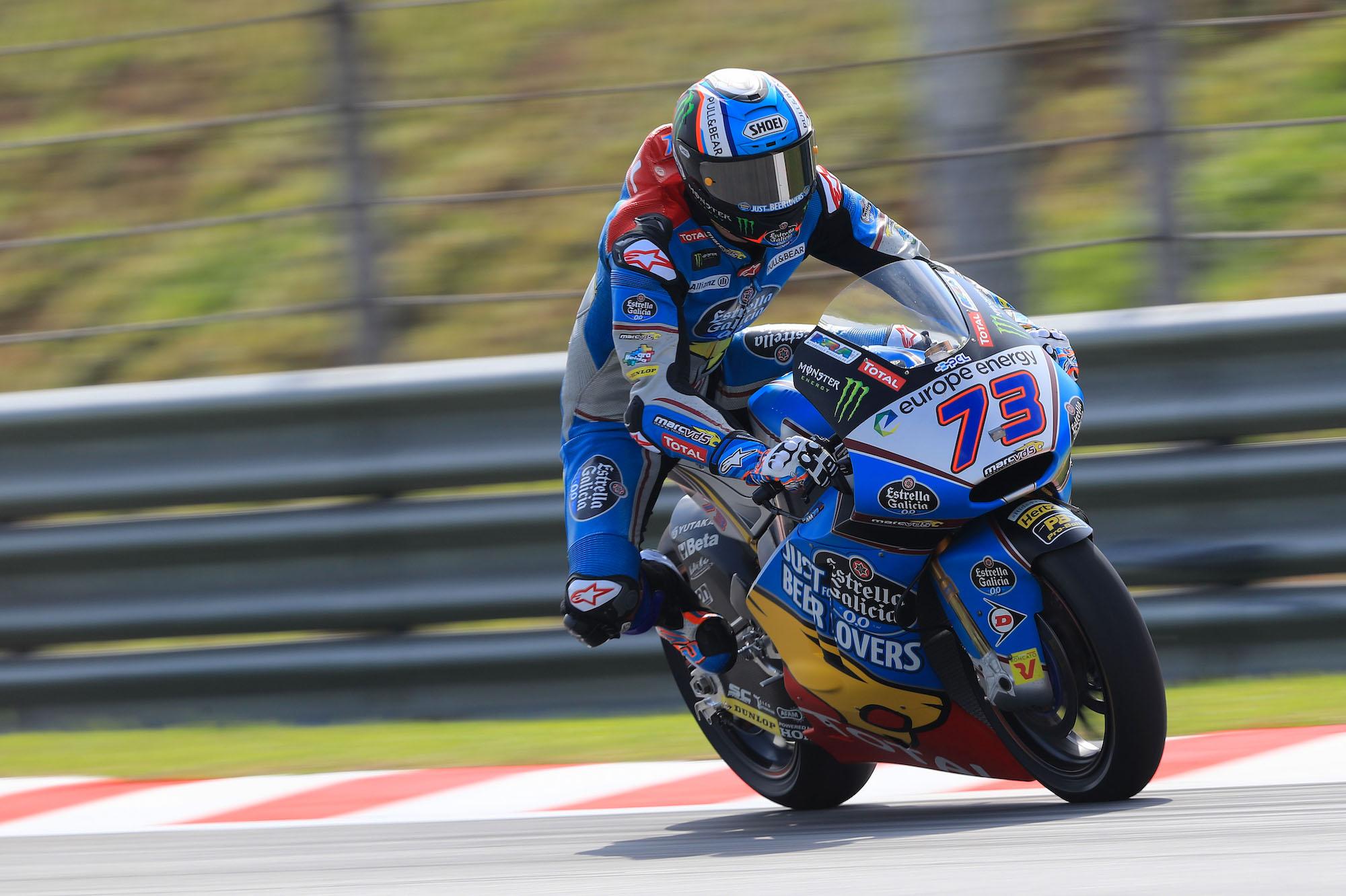 Álex Márquez inicia el GP de Malasia de la mejor manera