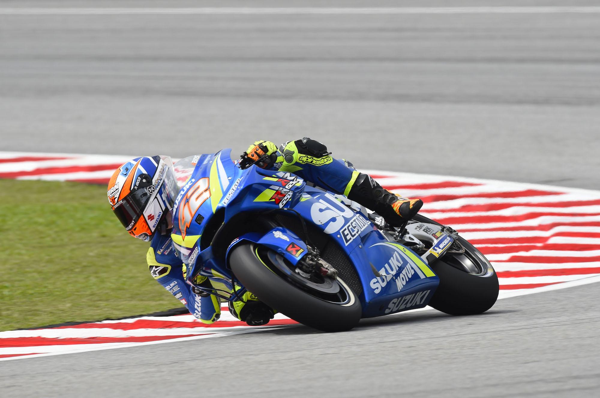 Álex Rins es el más rápido del viernes en MotoGP Malasia