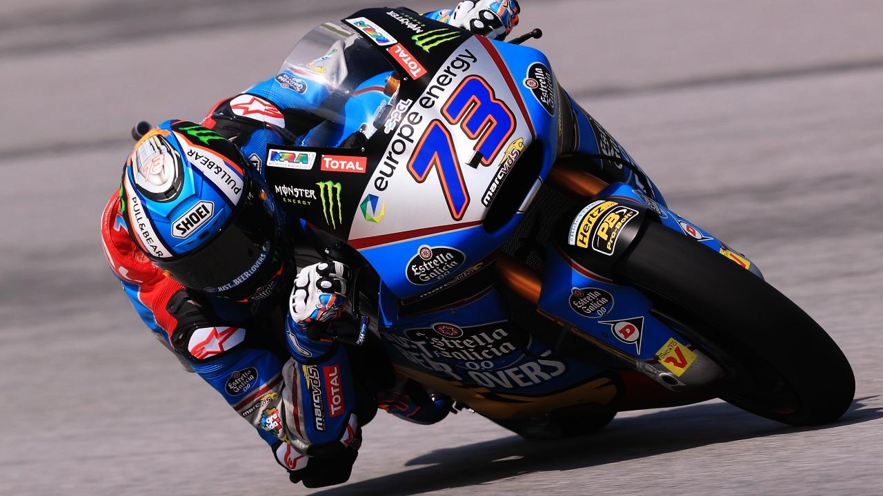 Álex Márquez se lleva la pole en Moto2 con una vuelta estratosférica en Sepang