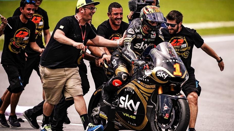 El décimo título de Valentino Rossi