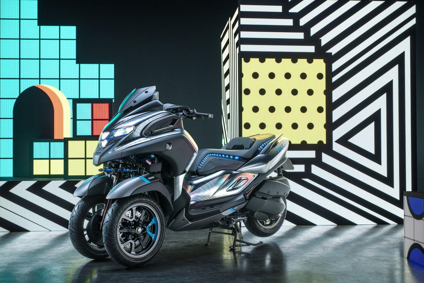 Yamaha 3CT, prototipo de movilidad urbana y futurible hermano mayor del Tricity pero más sofisticado