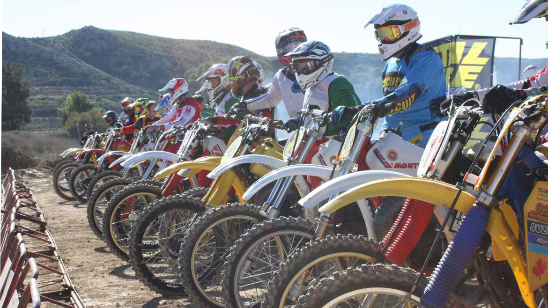 Elda, una huella imborrable en el Campeonato de Motocross Clásico