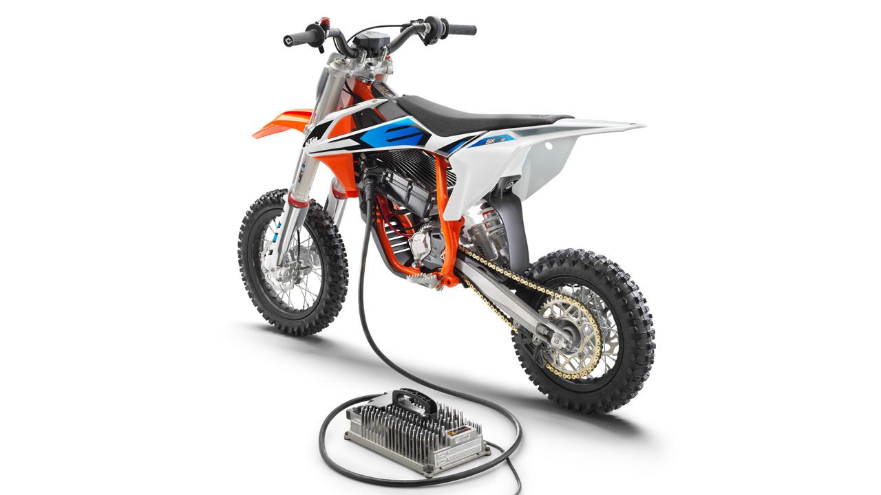 KTM SX-E 5, nueva moto infantil eléctrica
