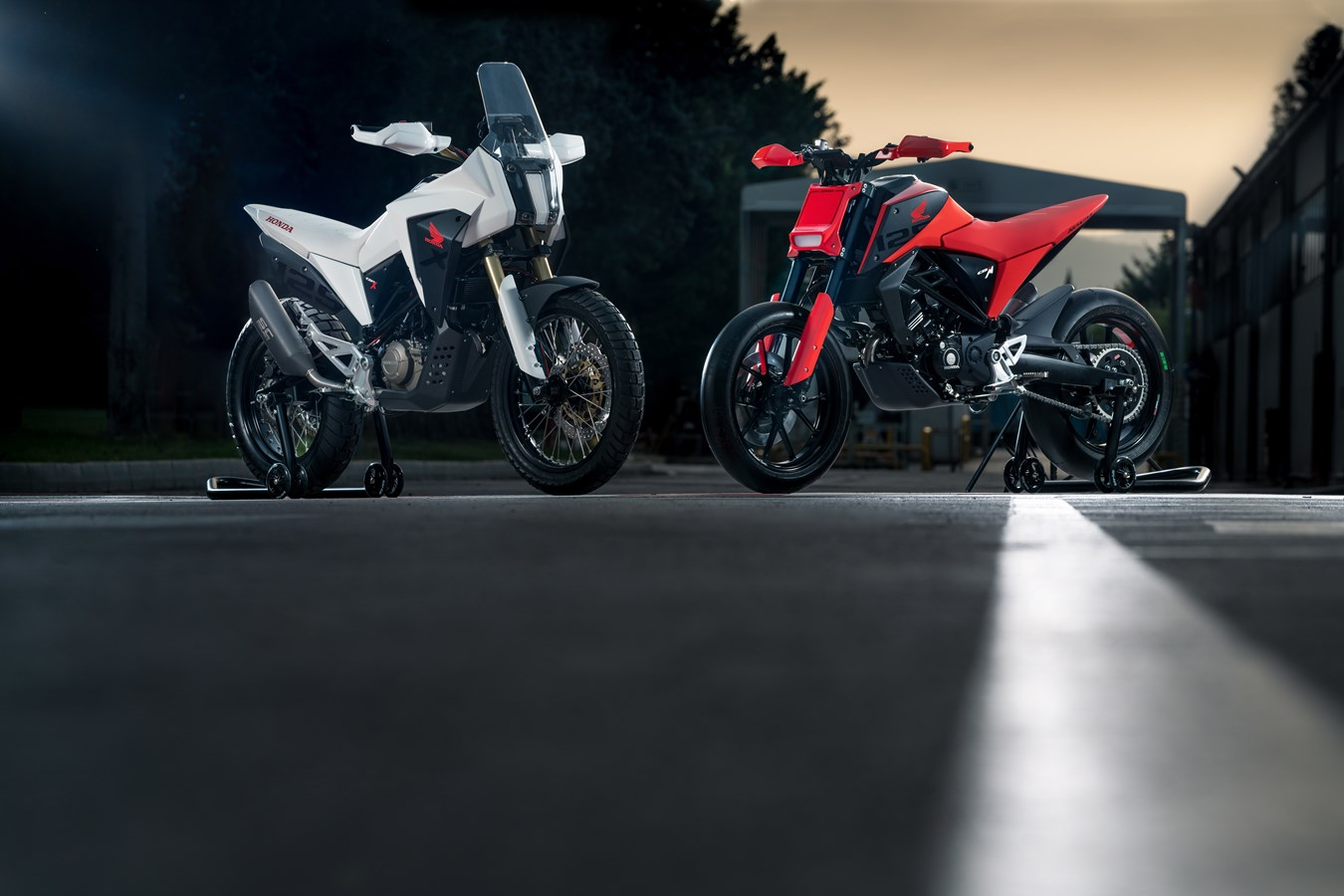 Honda muestra dos nuevos conceptos de 125 en el EICMA de Milán