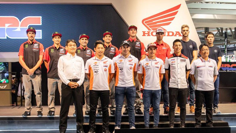 Honda presenta en el EICMA su nueva CRF450 Rally para el Dakar 2019
