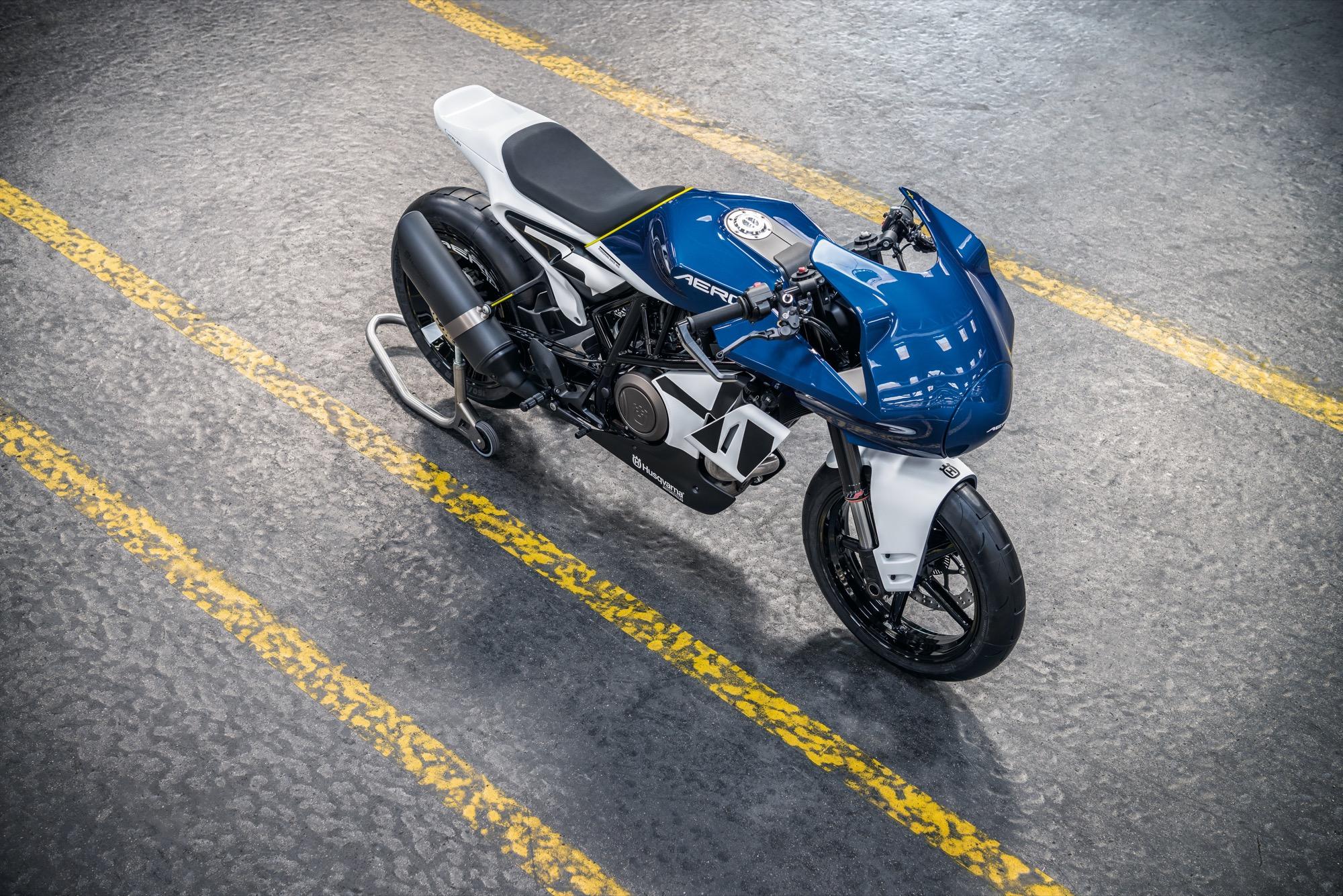 Husqvarna Vitpilen 701 Aero Concept, neo-vintage sobre la base 701