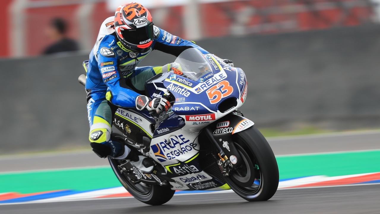 Tito Rabat renuncia a correr el GP de Valencia pero sí estará en los test