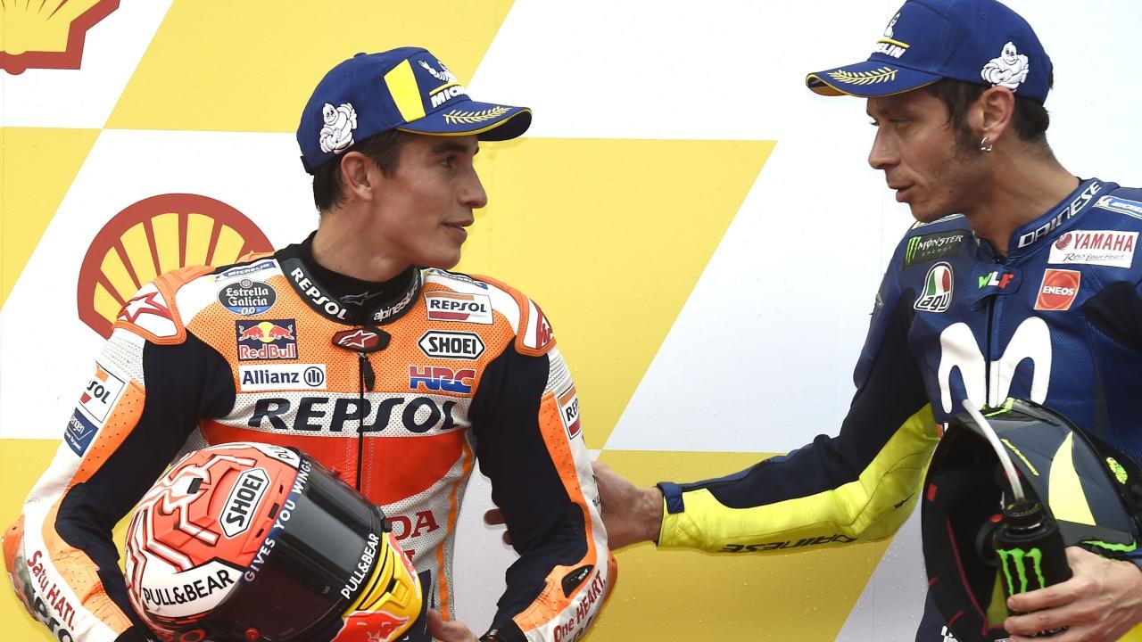 """Marc Márquez: """"Es impresionante lo que está haciendo Valentino Rossi, es único"""""""
