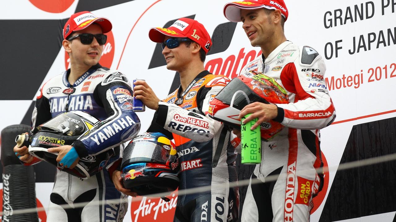 La despedida del primer triplete español de MotoGP