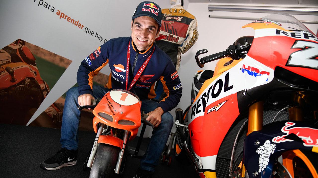 """Dani Pedrosa ya es Leyenda de MotoGP: """"Orgulloso de superar barreras que parecían imposibles"""""""
