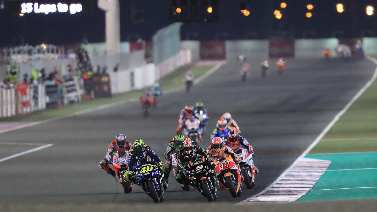 MotoGP 2019, lista de inscritos provisional