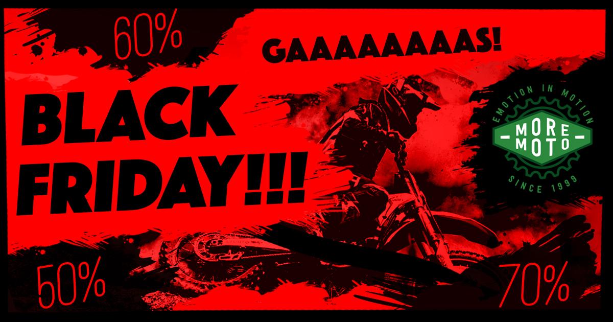 Moremoto pone en marcha su «Black Friday»