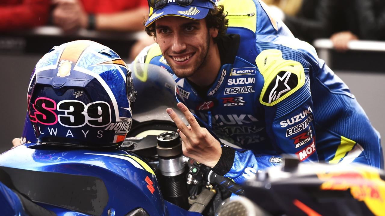 """Álex Rins: """"Suzuki es un equipo ganador, una moto ganadora y la victoria está al caer"""""""
