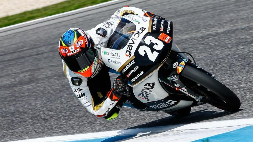 Raúl Fernández ya es campeón mundial junior de Moto3 2018