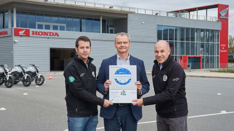 Honda España, galardonada con el Sello Europeo de Calidad de Formación