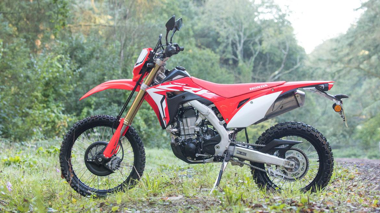 Presentación Honda CRF 450 L