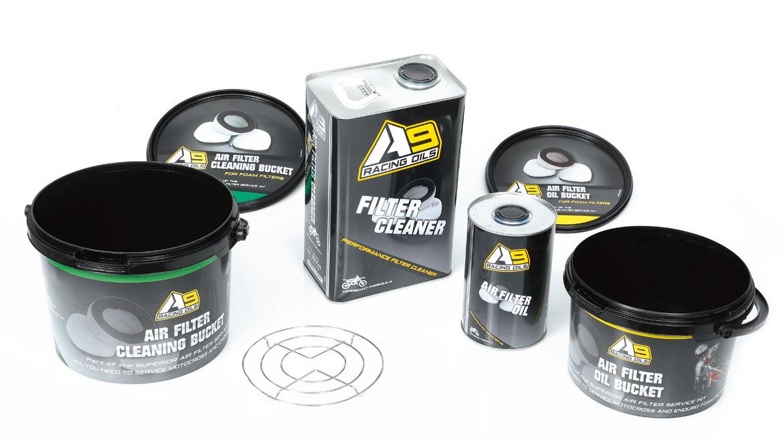 Kit limpieza filtro de aire A9, prueba de producto