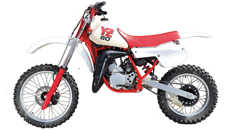 Yamaha Yz 80 1986 Moto Verde Motociclismo Es