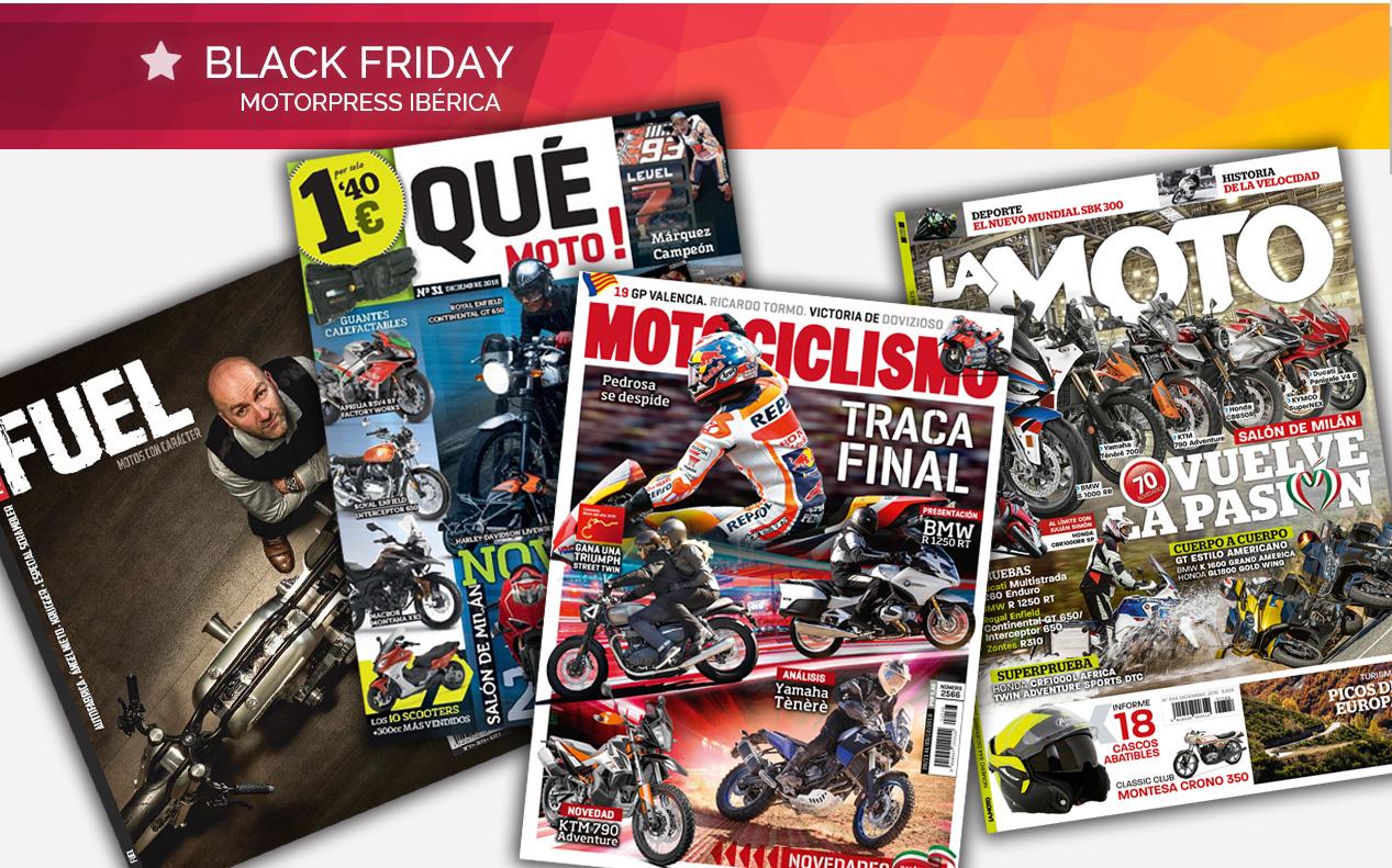 ¡Llega el Black Friday a Motociclismo!