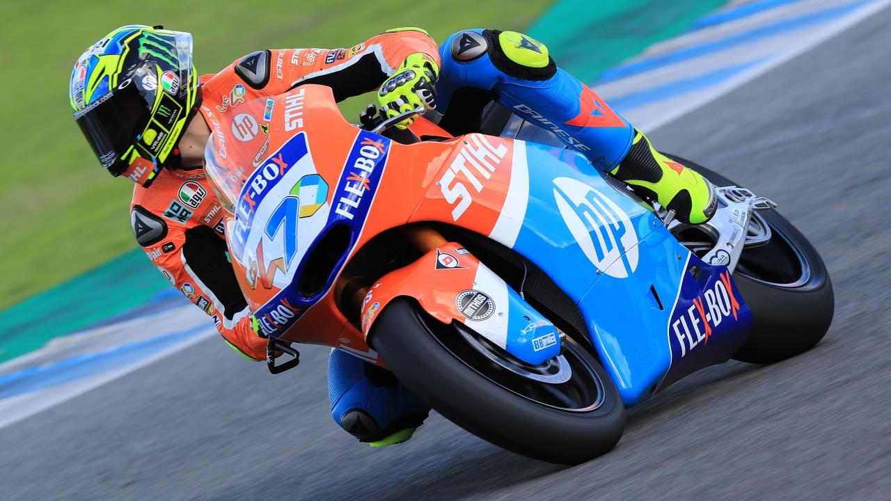 Lorenzo Baldassarri empieza Moto2 2019 mandando ante Luca Marini y Sam Lowes