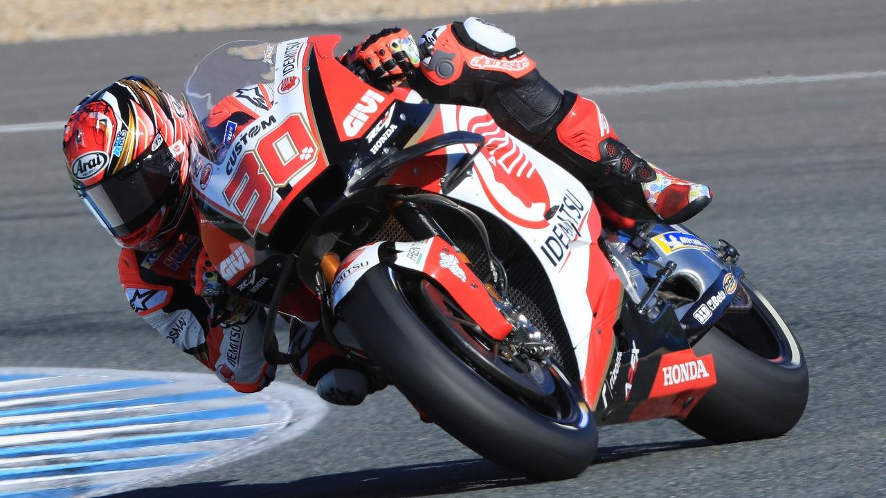 Takaaki Nakagami supera a Marc Márquez y lidera el test de MotoGP 2019 en Jerez