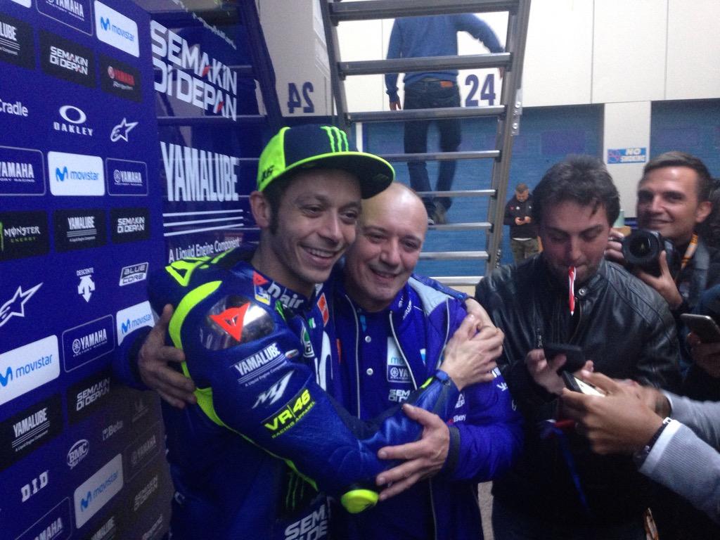 """Valentino Rossi: """"Ducati ha dado un paso adelante, nosotros tenemos que mejorar"""""""
