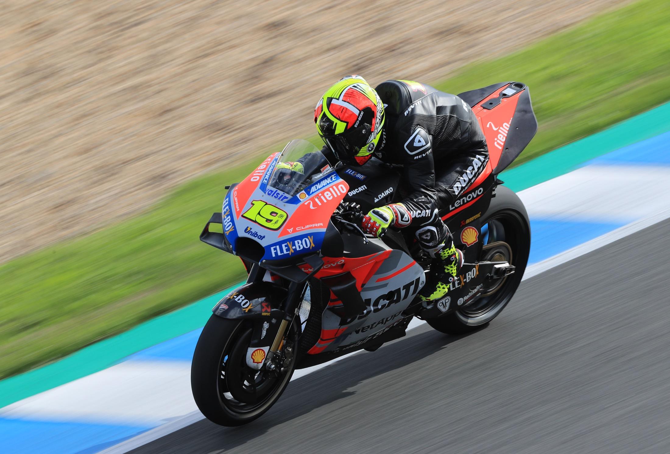 Más experimentos de Dall'Igna con la Ducati de MotoGP