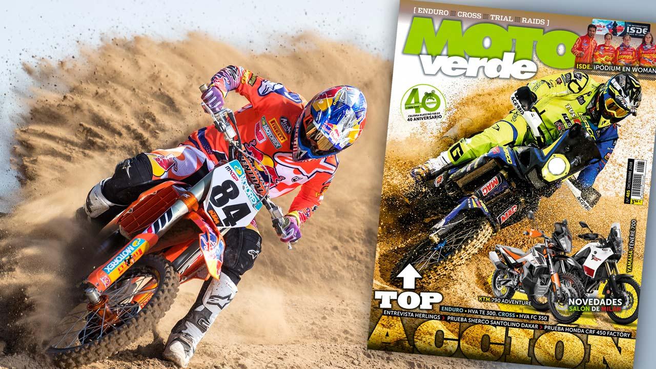 MOTO VERDE 485, contenidos y sumario de la revista